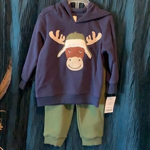 Infant boys 18 month 2 piece winter outfit